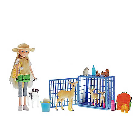 Paradise Horses 10 in. Doll Animal Rescue Set, TSC8971