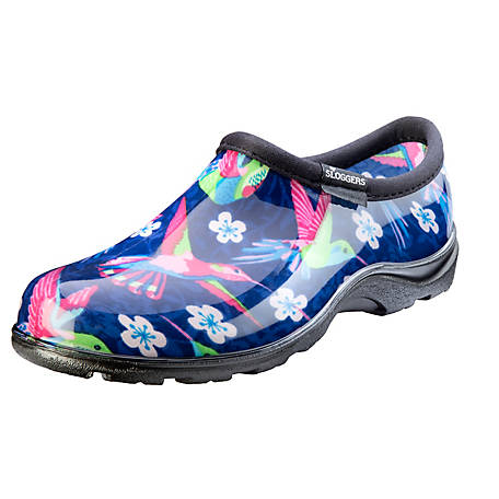 Sloggers Women's Hummingbird Print Waterproof Comfort Shoe