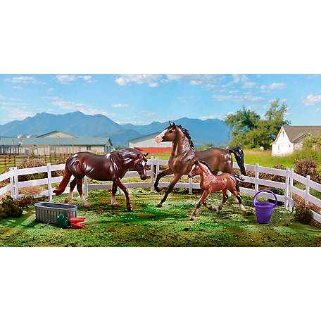 Breyer Breyer Pony Power 3 Horse Set, 62200