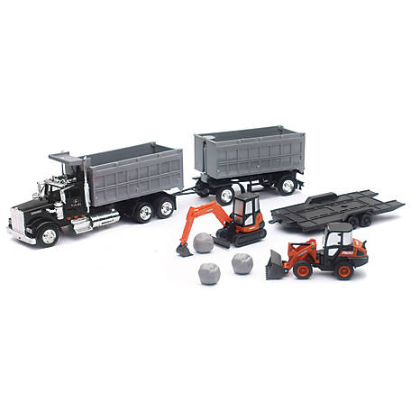Kenworth 1:43 Kubota Construction Set, SS-33373B