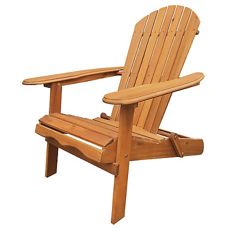 Leigh Country Natural Folding Adirondack Chair, TX 36600