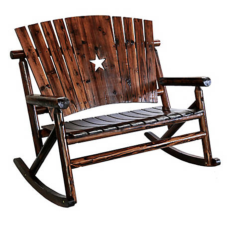 Leigh Country Char-Log Star Double Rocker, TX 93612