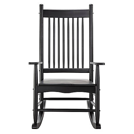 Red Shed Black Heirloom Rocker