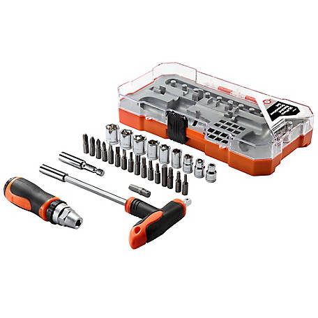 Barn Star Ratchet Screwdriver Set, 30 Piece, 41037-08CL