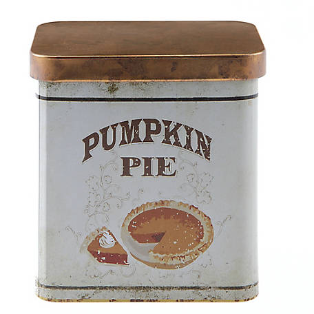 Red Shed Pumpkin Pie Scented Candle in Tin Can