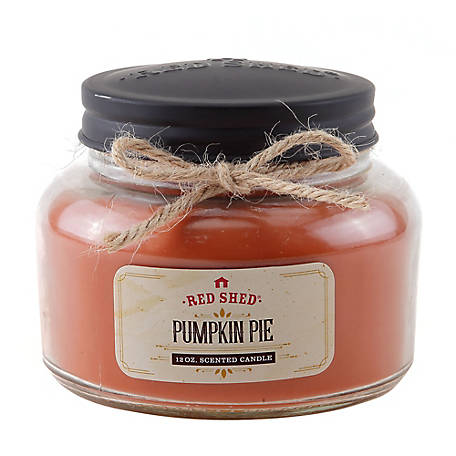 Red Shed Pumpkin Pie Jar Candle, 16 oz.