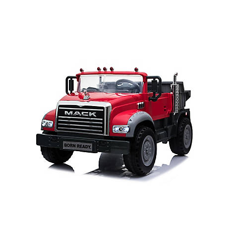 Mack Truck 12V Mack Dump Truck in Red, 2901