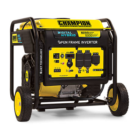 Champion Power Equipment 5000W Digital Hybrid Inverter Generator with Quiet Technology, 100519