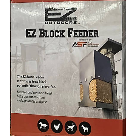 All Seasons Feeders EZ Block Feeder, 990195