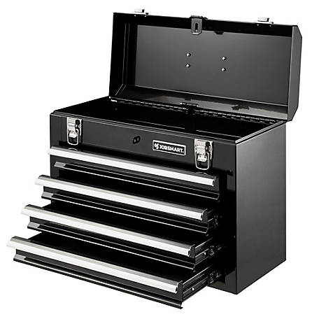JobSmart 4 Drawer Steel Tool Box. 20.5 in., TSC4DHBSHS19B