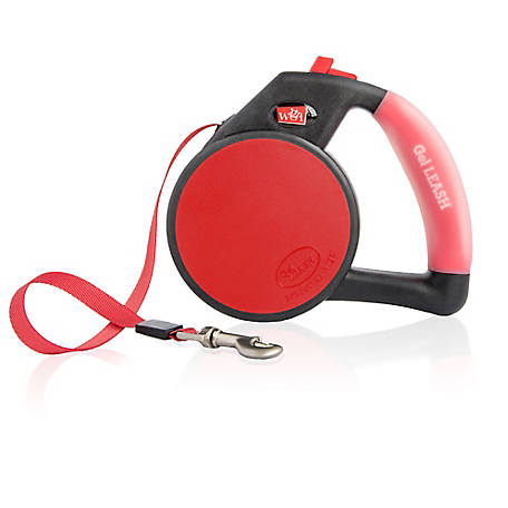 Wigzi Retractable Tape Gel Handle Leash