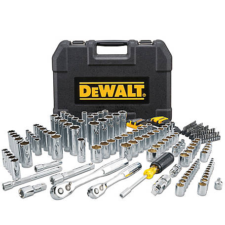 DeWALT 200 pc. Mechanics Tool Set, DWMT45007