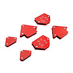 Barn Star Welding Magnet Set, 6 Piece, WH-1706