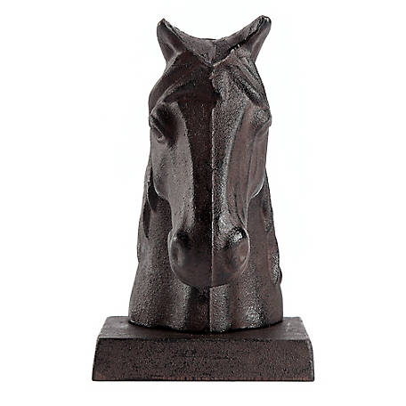 Red Shed Cast Iron Horse Head