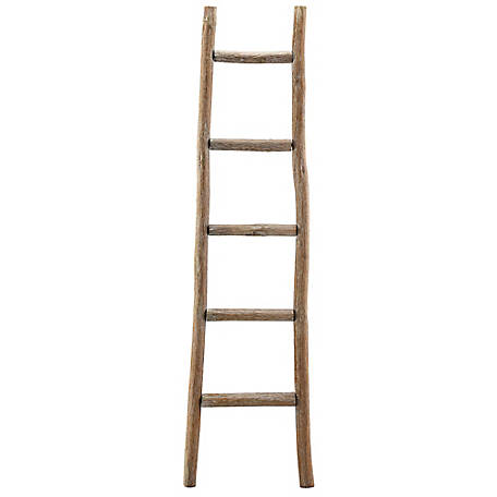 Red Shed Decorative Wood Ladder