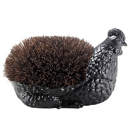 Red Shed Cast Iron Chicken Boot Brush