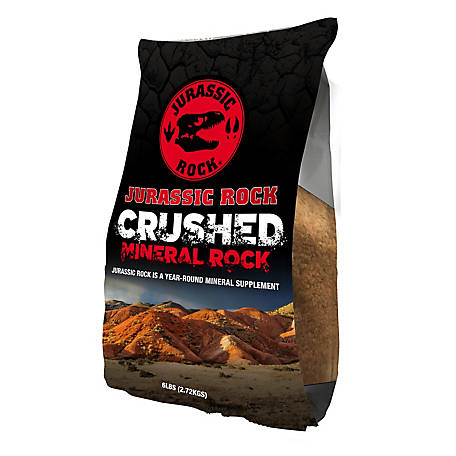 Do-All Outdoors Jurassic Rock Crushed Mineral Rock 6 lb. Bag, JR6C