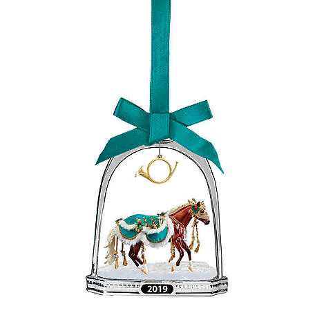 Breyer Minstrel - 2019 Holiday Stirrup Ornament, 700320