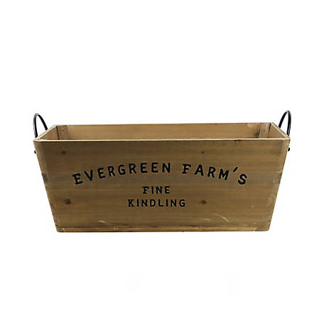 Red Shed Kindling Box