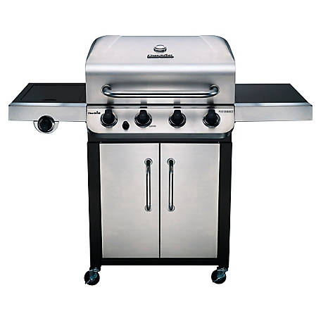 Char-Broil Performance 4 Burner Cabinet Gas Grill, 463375619