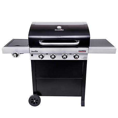 Char-Broil Performance Tru-Infrared 4-Burner Cart Gas Grill, 463280219