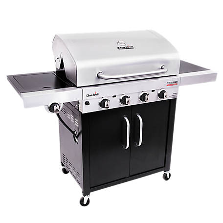 Char-Broil Performance Tru-Infrared 4 Burner Cabinet Gas Grill, 463280419