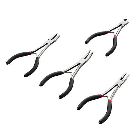 Barn Star Long Reach Mini Pliers Set, 4 Piece, WH-PL1654