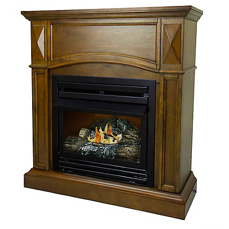 Pleasant Hearth 36 in. Natural Gas Heritage Fireplace, VFF-PH20NG