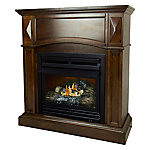 Pleasant Hearth 36 in. Natural Gas Cherry Fireplace, VFF-PH20NG-C1