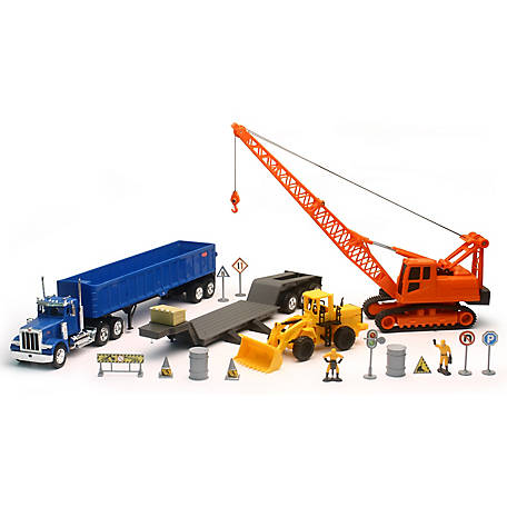New-Ray Kenworth Construction Set, SS-13775A