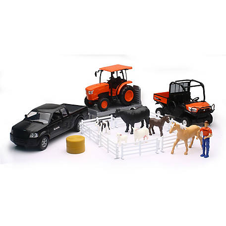 New-Ray Kubota Farm Set, SS-34125A