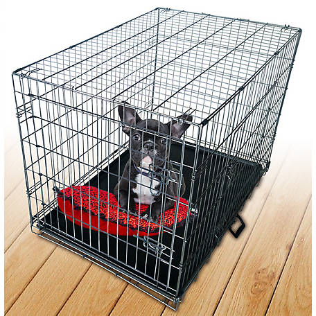 Neocraft 30 in. Double Door Dog Crate, 56030