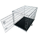 Neocraft 42 in. Double Door Dog Crate, 56042