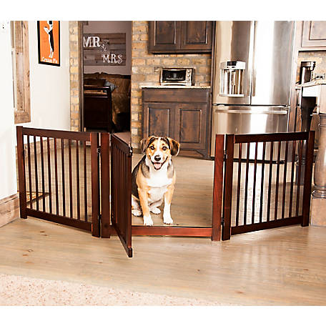 Primetime Petz 360 Configurable Gate 24 in. Walnut, 33235