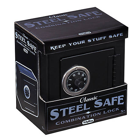 Schylling Black Metal Safe, LBB