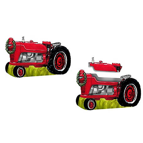 HaynesBesco Group Christmas Tractor Cookie Jar