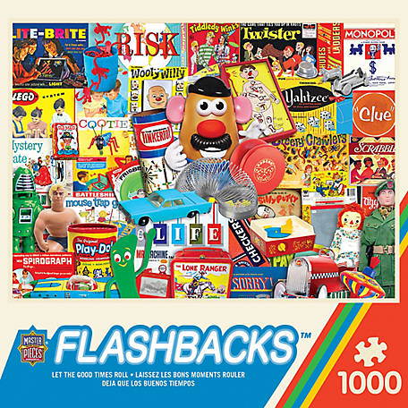 Masterpieces Flashbacks 1000 pc. Assorted, 51803