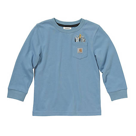Carhartt Toddler Boys' Tool Pocket T-Shirt CA6004
