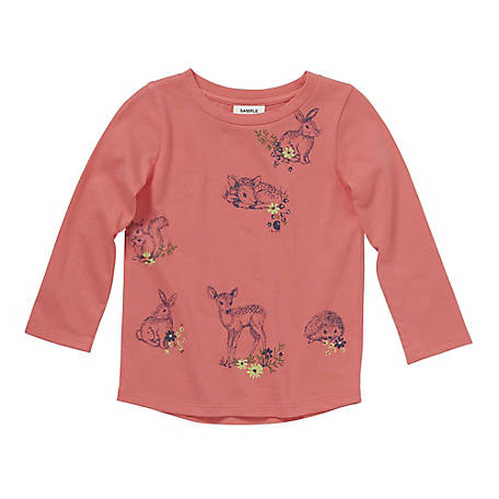 Carhartt Toddler Girls' Deer Tee CA9716