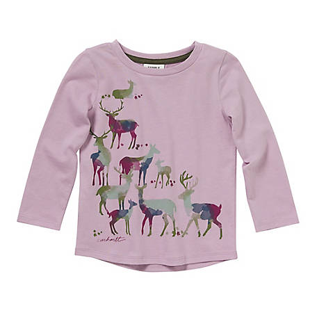 Carhartt Toddler Girls' Watercolor Tee CA9720