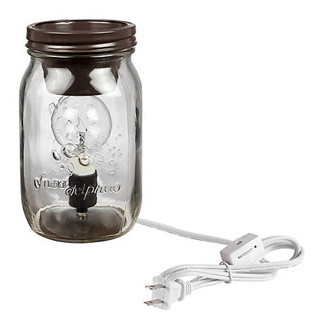 Red Shed Plug-In Mason Jar Wax Warmer