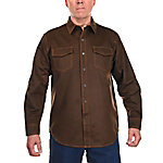 Ridgecut Men's Long Sleeve Faux Leather Shirt