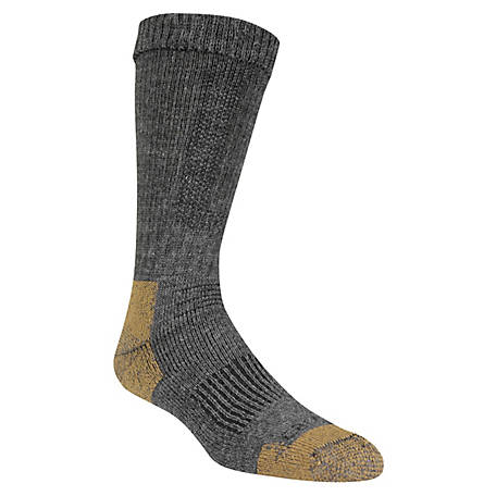 Carhartt Men's Merino Wool Steel-Toe Socks, CHMA5780B1C4001