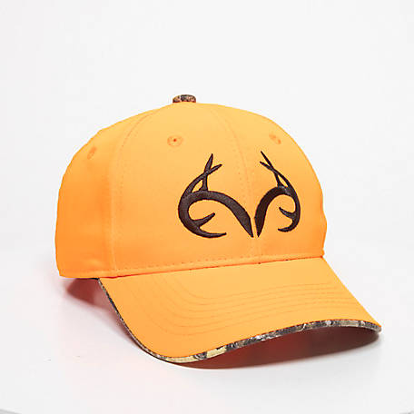 Realtree Men's Antler Cap Orange