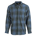 Blue Mountain Men's Long Sleeve Plaid Flannel