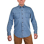Ridgecut Men's Long Sleeve Denim Shirt