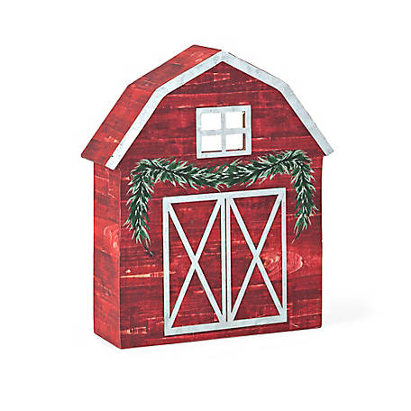 Trisha Yearwood Home Collection Barn Mantle Sitter