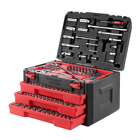 JobSmart Mechanic Tool Set. 312 Piece, JS312MTS