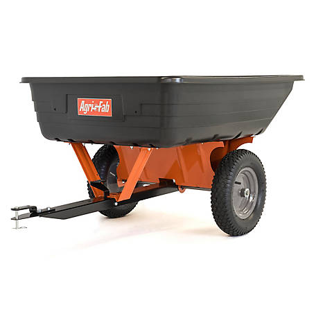 Agri-Fab 10 cu.ft. Poly Tow Dump Cart, 45-0533