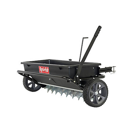 Agri-Fab 100 lb. Spiker Seeder Drop Spreader, 45-0543